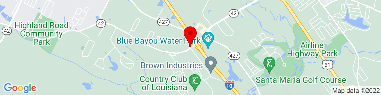 Google Map of 30.3453665, -91.03123200000002