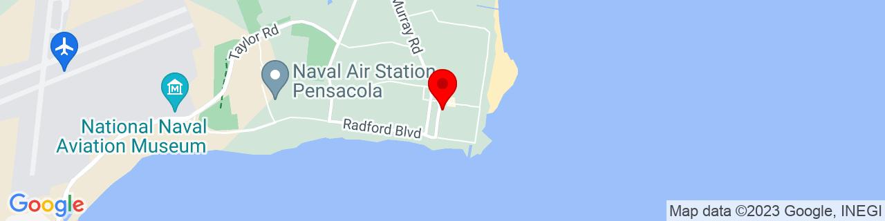 Google Map of 30.3490126, -87.27062610000002