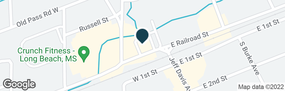 Google Map of120 W RAILROAD ST