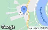 Map of Addis, LA