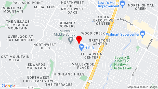 Google Map of 7050 Village Center Drive, Austin, TX 78731-3024