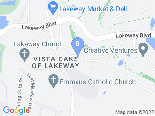 Map of Pams Purrfurred Pet Care Dog Boarding options in Lakeway | Boarding