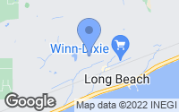 Map of Long Beach, MS