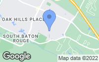 Map of Baton Rouge, LA