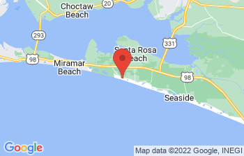 Map of Santa Rosa Beach