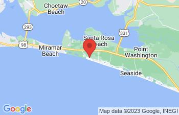 Map of Dune Allen Beach