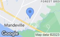 Map of Mandeville, LA