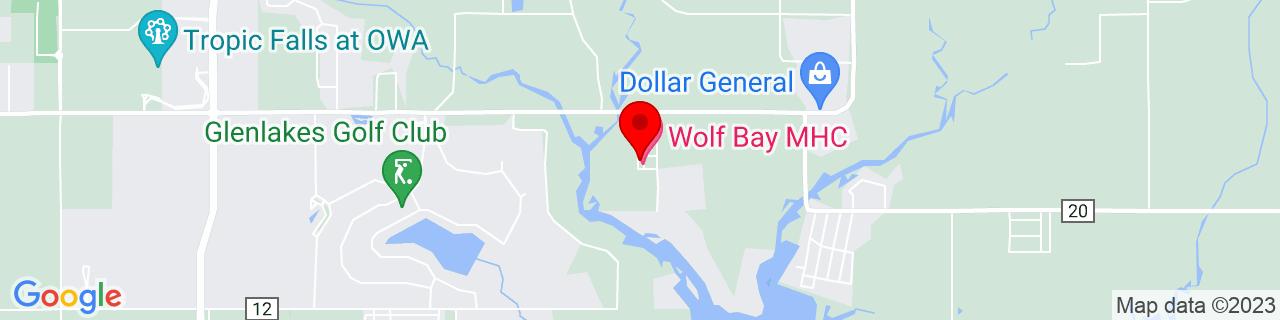 Google Map of 30.36676, -87.61669