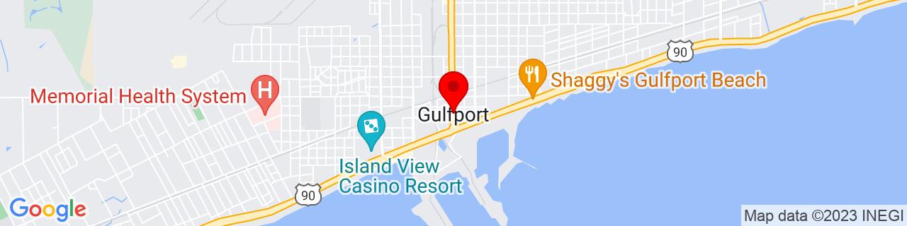 Google Map of 30.3675, -89.09277777777777