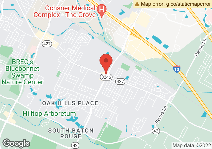 Google Map of 12881 PERKINS RD