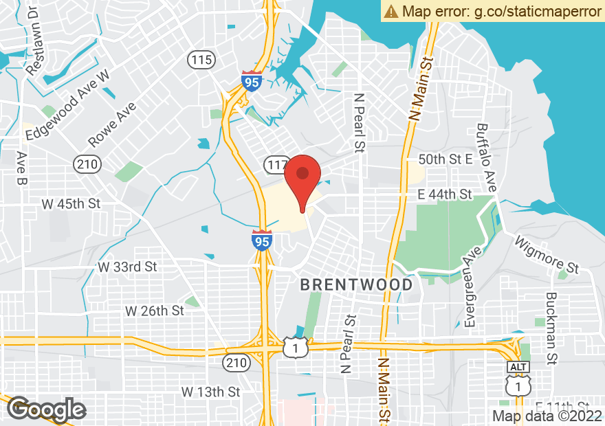Google Map of 5108 NORWOOD AVE