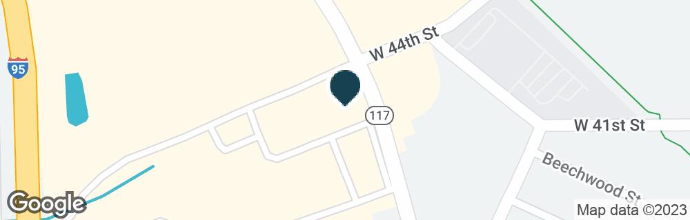 Google Map of5108 NORWOOD AVE