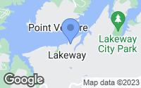 Map of Lakeway, TX