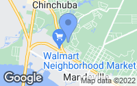 Map of Mandeville, LA