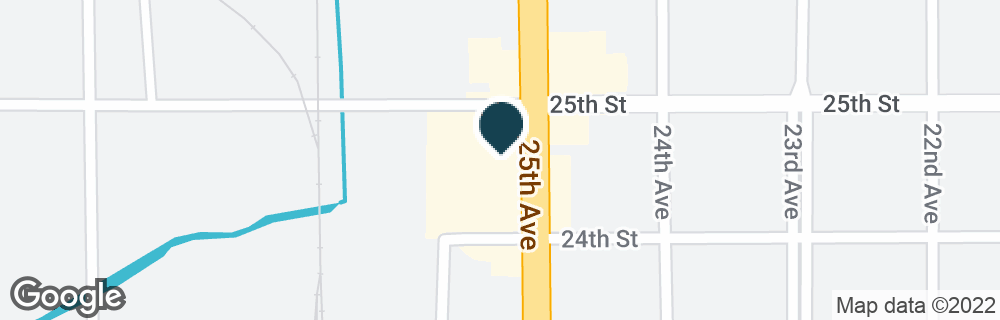 Google Map of2433 25TH AVE