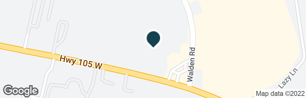 Google Map of18900 HIGHWAY 105 W
