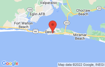 Map of Destin