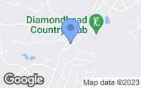 Map of Diamondhead, MS