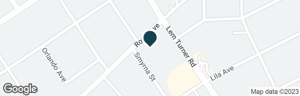 Google Map of7512 LEM TURNER RD