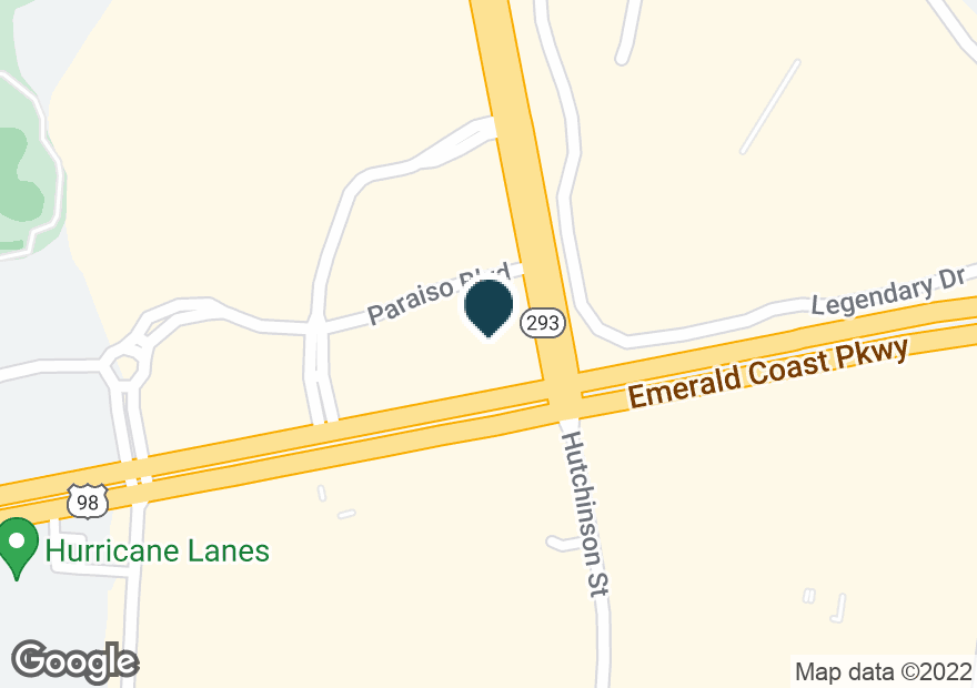 Google Map of34909 EMERALD COAST PKWY