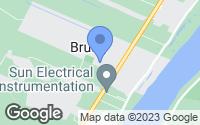 Map of Brusly, LA