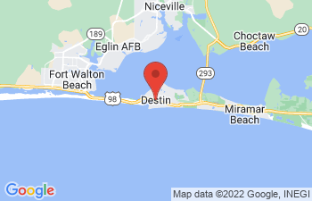 Map of Destin