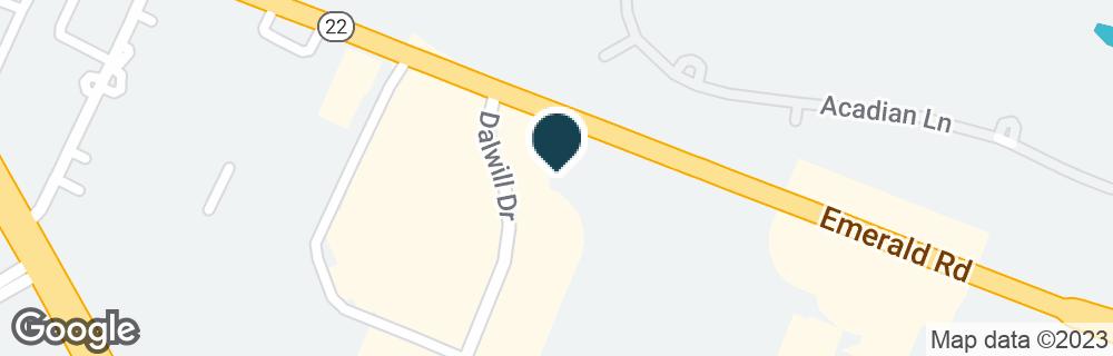 Google Map of4330 HIGHWAY 22