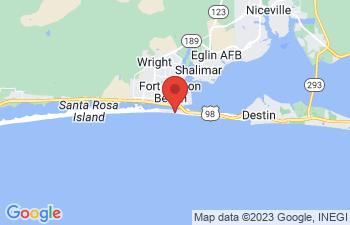 Map of Fort Walton Beach