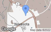 Map of Navasota, TX