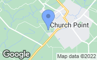 Map of Church Point, LA