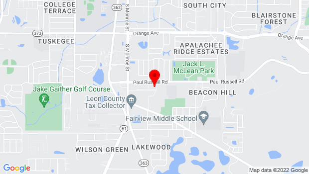 Google Map of 441 Paul Russell Road, Tallahassee, FL 32301
