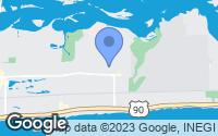 Map of Biloxi, MS