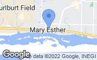Map of Mary Esther, FL