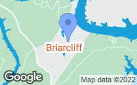 Map of Briarcliff, TX