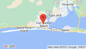 Map of Fort Walton Beach