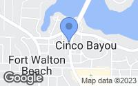 Map of Fort Walton Beach, FL