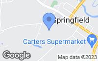 Map of Springfield, LA