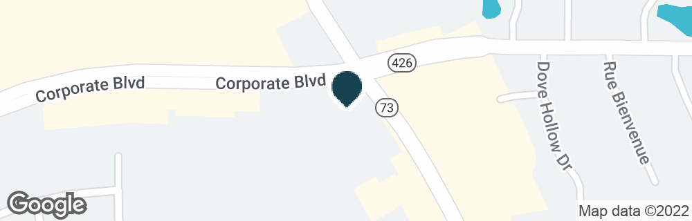 Google Map of7620 JEFFERSON HWY