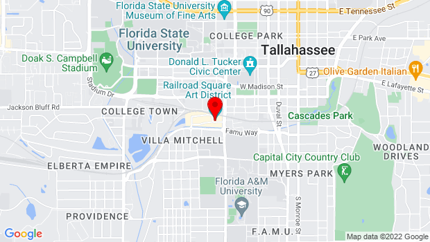 Google Map of 567 Industrial Drive, Tallahassee, FL 32301