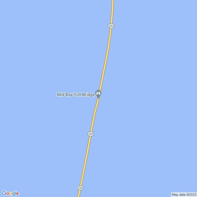 Map of Mid-Bay Bridge