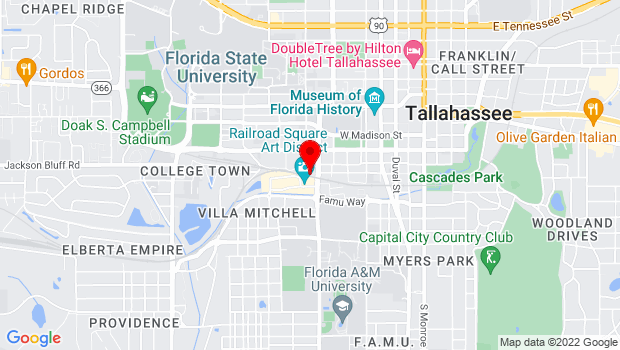 Google Map of 918-1/2 Railroad Ave., Tallahassee, FL 32310
