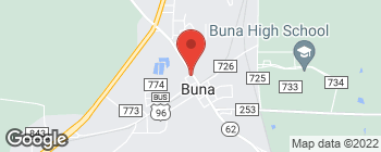 Map of 688 State Highway 62 in Buna