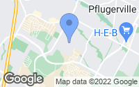 Map of Pflugerville, TX