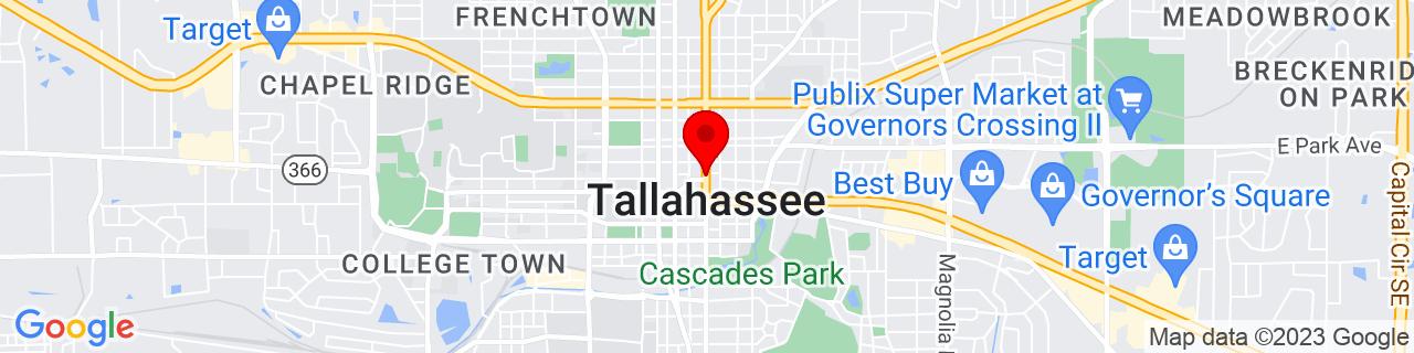 Google Map of 30.439769444444444, -84.28064722222223