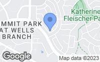 Map of Austin, TX