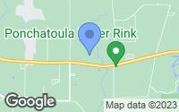 Map of Ponchatoula, LA