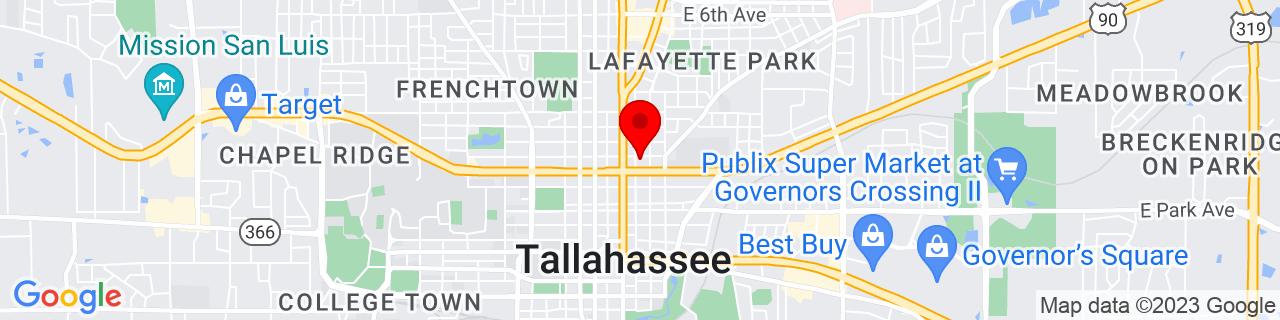 Google Map of 30.445602, -84.27922699999999