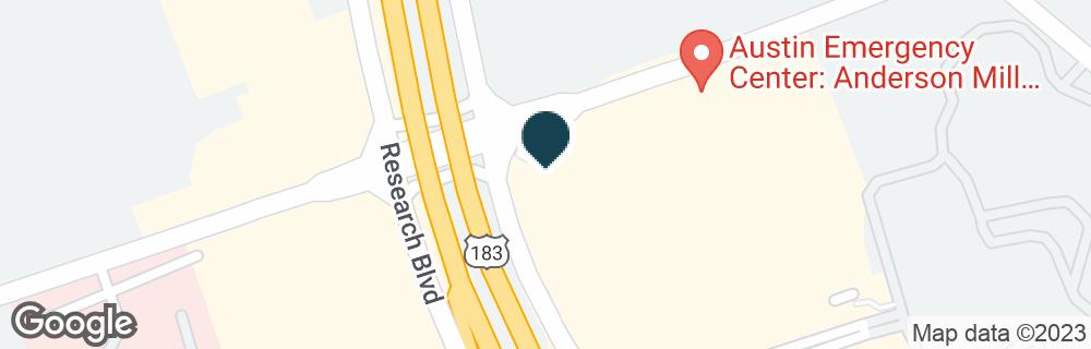 Google Map of13435 N HIGHWAY 183