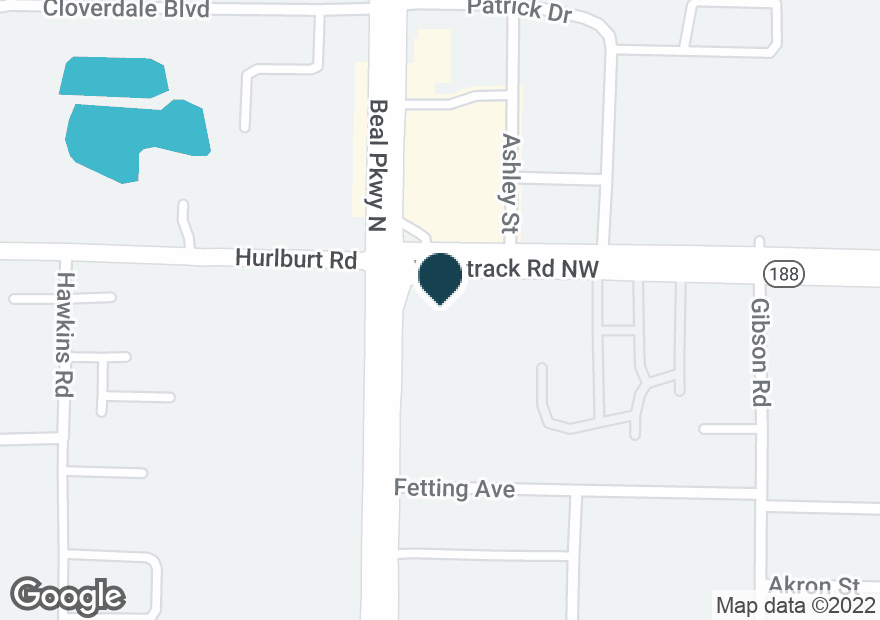 Google Map of825 BEAL PKWY NW