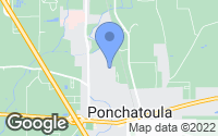Map of Ponchatoula, LA